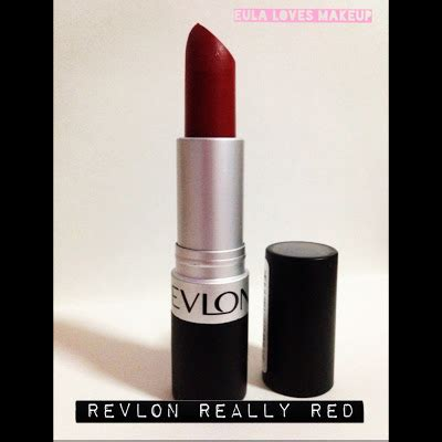 Lipstick Revlon Really eula makeup revlon s really lipstick review
