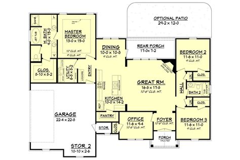 layout of tanner house tanner house plan house plan zone
