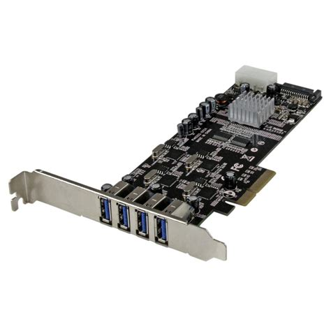 Usb Card Pci Express 4 port pci express pcie superspeed usb 3 0
