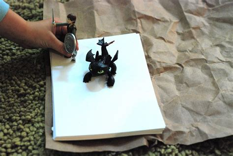 How To Make Toothless Out Of Paper - make your own book week