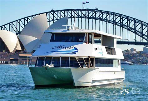 house boat sydney magic boat hire nye ticketed cruise sydney harbour