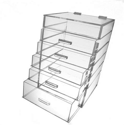 Acrylic Makeup Organizer With Drawers Kardashians by Organizer With 5 6 Or 7 Drawers Acrylics Drawers And