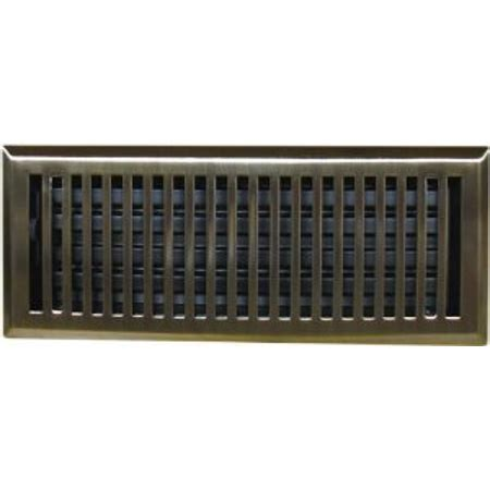 10 5 x 4 5 floor vent covers 4 quot x 10 quot brass plated contemporary floor register vent