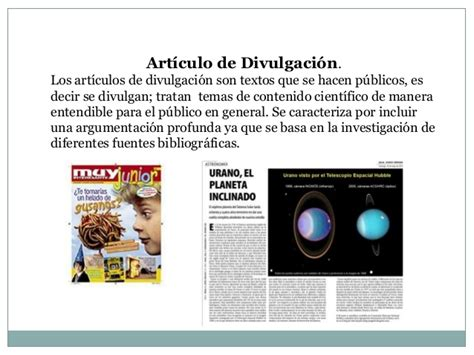 articulos de divulgacion cientifica art 237 culo de divulgaci 243 n cient 237 fica