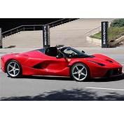 Primo Video Della Ferrari La Aperta  Motorzoom