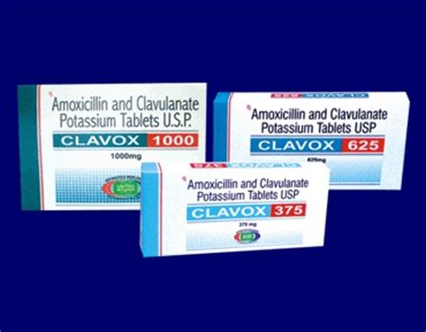 Shelf Of Amoxicillin by Amoxicillin And Clavulanate Potassium Tablets