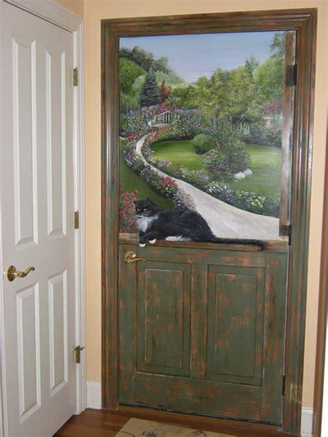 hand painted doors painting  doors decorative artist