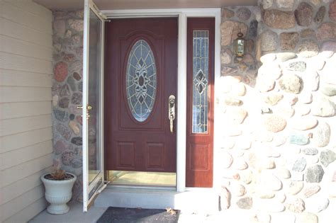 entry door with sidelight of luxury exterior door with