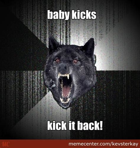 Baby Kicking Meme - baby kick by kevsterkay meme center