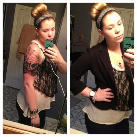 kailyn lowry tattoos photos kailyn lowry gets dermal piercings on chest