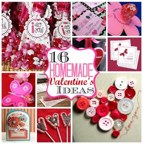 Handmade Valentines For - image gallery handmade s