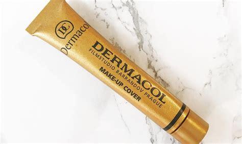 Foundation Dermacol dermacol makeup cover foundation review
