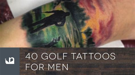 tattoo golf 40 golf tattoos for
