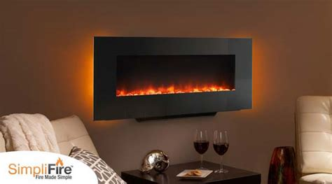 Monessen Fireplace Review by Monessen Simplifire Wall Mount Electric Linear Fireplace
