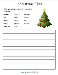 printable christmas spelling list 1000 images about homeschool christmas on pinterest