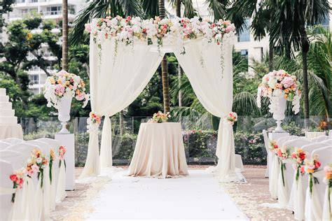 Wedding Garden by Hitched Wedding Planners Singapore Outdoor Garden Wedding