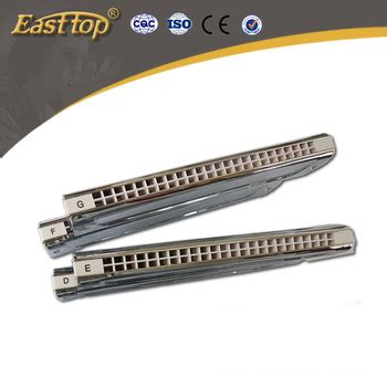 Oem Harmonika 24 Holes Segi 6 easttop high quality professional musical instrument supplier 24 holes silver gold multi color
