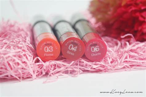 Silkygirl Color Lip Balm www koeyleow silkygirl matte fever lipcolor balm review