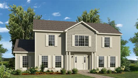 2 story homes fayette two story style modular homes
