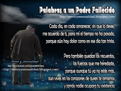 oracin a mi padre fallecido amor y sensualidad palabras a un padre fallecido amor y