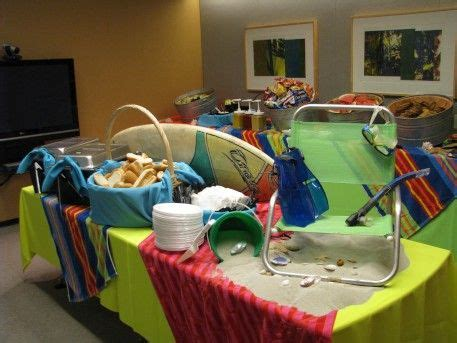 office themed events 7 best beach themed office party images on pinterest