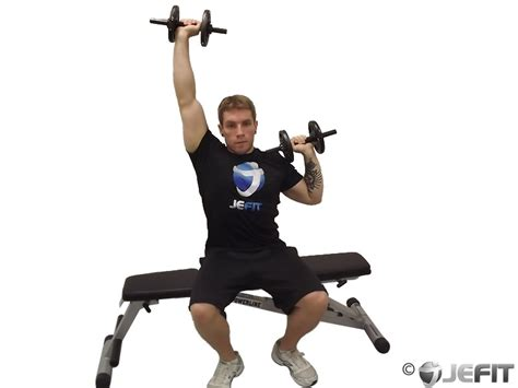 seated dumbbell bench press dumbbell alternate seated press exercise database