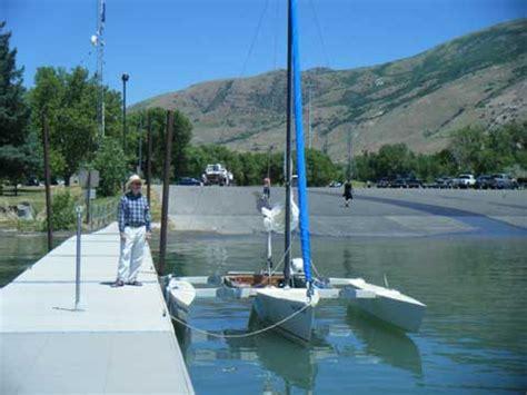 sailboats utah cross 18 trimaran folding 2004 ogden utah sailing texas