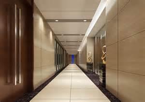 Interior design corridor of open office interior design