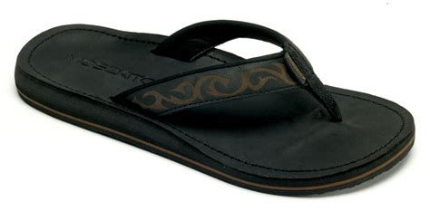 mens sandals with arch support moszkito archy s arch support flip flops black