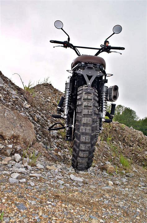Motorradvermietung Passau by Umgebautes Motorrad Triumph Scrambler Zweiradparadies