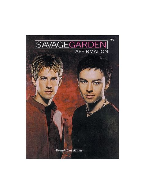 Savage Garden Affirmation Album by Savage Garden Affirmation Pvg Piano And Vocal With