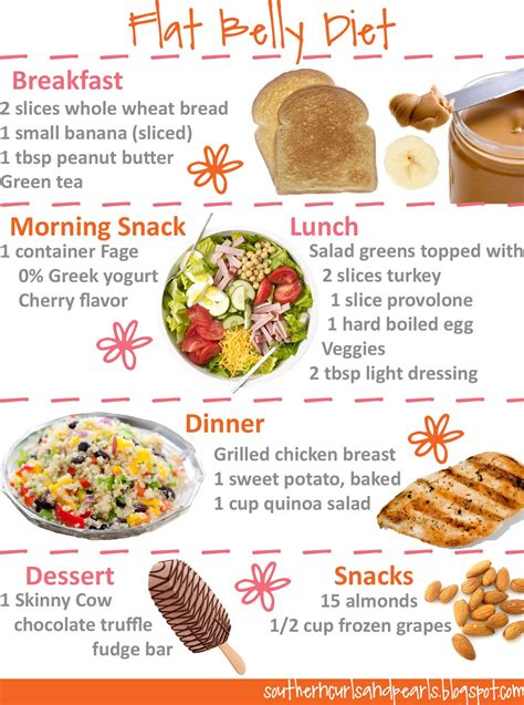 Diet Sle For Losing Stomach Fast by Southern Curls Pearls Belles Of The Flat Belly