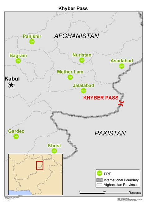 middle east map khyber pass isaf maps