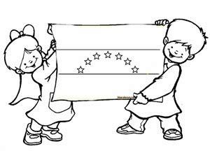 imagenes para colorear la bandera de venezuela colorear bandera de venezuela con ni 241 os colorear dibujos