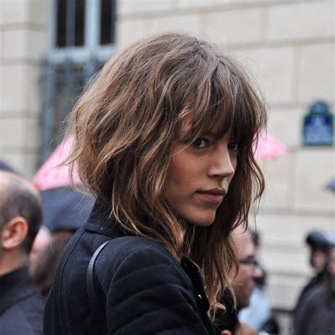 scandinavian long hairstyles the 25 best brunette bangs ideas on pinterest hair with