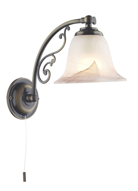 Visual Comfort Sconce Dar Campden Decorative Up Down Wall Light Pull Cord Ant Bra