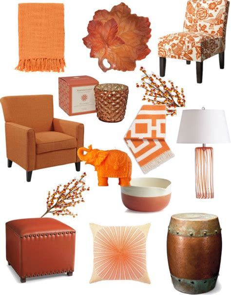 8 Great Orange Accessories by 25 Best Ideas About Burnt Orange Decor On