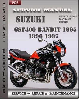 service manual pdf 1996 suzuki esteem body repair manual suzuki gsf400 bandit 1995 1996 repair manual download repair service manual pdf