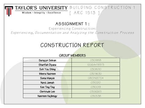 construction obsercvation report template for residential awchitecture building construction report 1