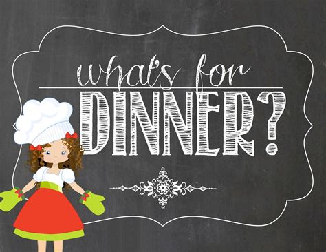 what 5 teach me what s for dinner this week