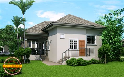 elevated one storey house design phd 2015022 house
