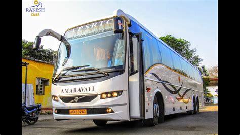 volvo br multi axle bus apsrtc amaravati rcbuses india youtube