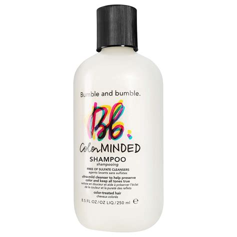 bumble and bumble color minded shoo bumble and bumble color minded sulfate free shoo 250ml