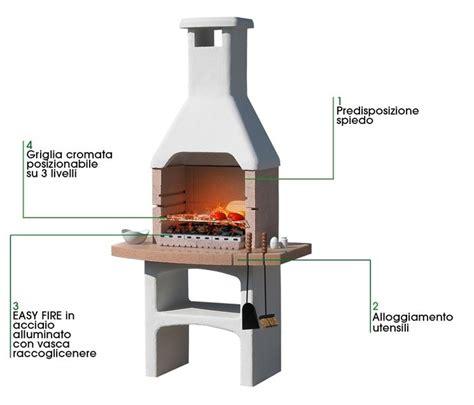 barbecue prefabbricati da giardino barbecue in cemento barbecue perch 232 scegliere il