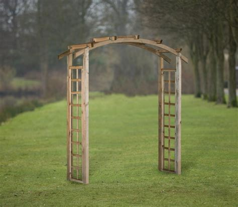Wide Garden Arch Uk Curved Garden Arch 180cm Wide