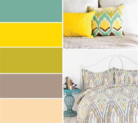 color palette for bedroom living room walls paintedyellowish color