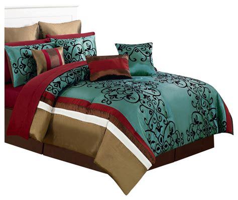 houzz bedding shop houzz lavish home eve room in a bag bedroom set
