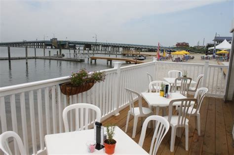 restaurants with outdoor seating nj back deck outdoor seating picture of deauville inn