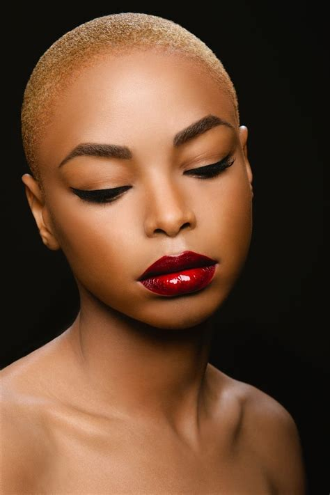 beautiful black women bald haircuts find this picture on http afrodesiacworldwide tumblr