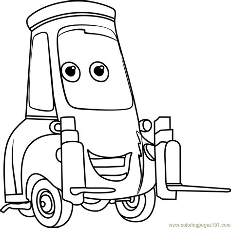 coloring pages cars 3 guido from cars 3 coloring page free cars 3 coloring